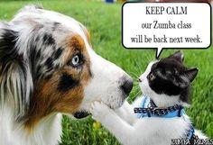 Zumba next week!