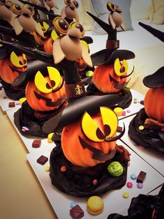 Our Exec Chef Lucien Gautier #halloween inspiration this year @Mandy Dewey Seasons Hotel George V Paris !