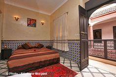Chambre Casablanca:Riad Dar Ftouma - Marrakech