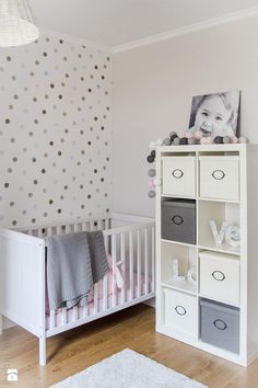 Bedroom: Grey Wall Design Baby Nursery Ideas Above Large Soft Carpet Floor Have Some Doll On Baby Room from Realizing Baby Nursery Ideas on Budget Baby Bedroom, Baby Boy Rooms, Baby Boy Nurseries, Nursery Room, Girl Nursery, Girl Room, Girls Bedroom, Baby Girls, Gray Nurseries