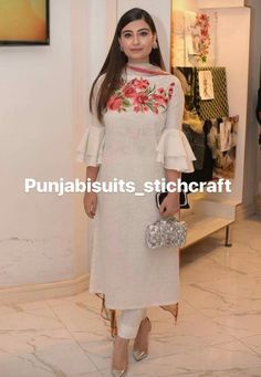 See related links to what you are looking for. Pakistani Dresses, Indian Dresses, Indian Outfits, Indian Attire, Indian Wear, Kurta Designs, Blouse Designs, Ethnic Fashion, Indian Fashion