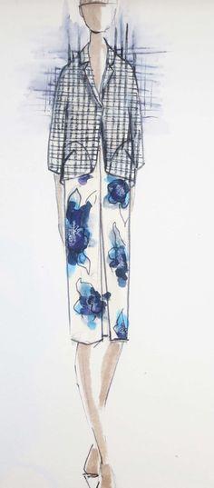 Lela Rose sketch
