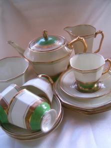 Royal Stafford Art Deco Tea Set