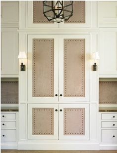 Nailhead Trim on Walls - Mulltple Examples