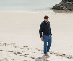 Spending the day on the boat? Throw on a cotton jumper and enjoy the sea breeze in comfort and style. Cotton Jumper, Donegal, Weekend Wear, Breeze, Tweed, Knitwear, Boat, Suits, Casual