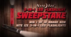 Take part in @NiteIze 3-in-1 LED Flashlight #Sweepstake brought to you by @Military_1st