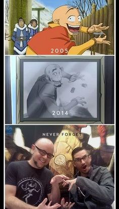 Aang is still the same