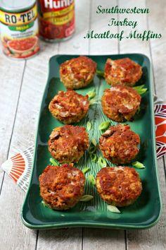 Meatloaf Muffins are a flavorful take on meatloaf. Turkey meatloaf ...