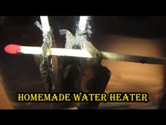 Mini Water Heater - Homemade