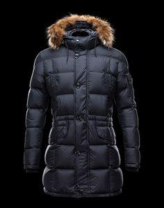 1e667cf4e80d Doudoune Moncler Gabriel Homme Bleu Manteau Moncler, Long Down Coat, Coats  For Women,