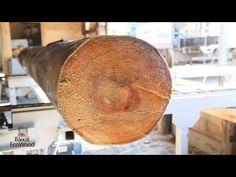 Морёная лиственница со дна Байкала превосходит мореный дуб. - YouTube
