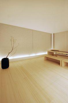 Curiosity, House and Office Tokyo, Japan >> Nice flooring. Japanese Home Decor, Japanese Interior, Japanese House, Japanese Architecture, Interior Architecture, Interior And Exterior, Interior Design, Tatami Room, Workspace Design