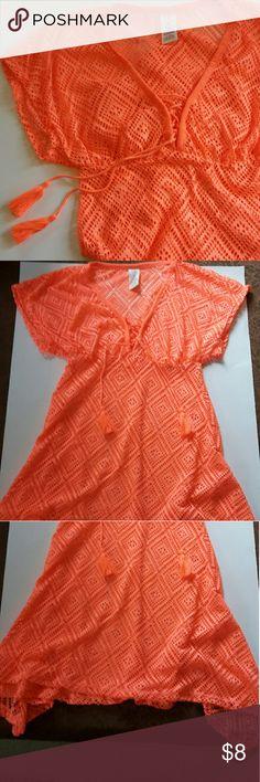 OP women's Tshirt Flash Peach Medium OP women's Tshirt with tassels OP Tops