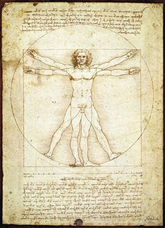 Vitruvius, human body is the measurement of architecture