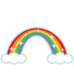 Rainbow: Miss Kate Cuttables-- SVG scrapbook cut file cute clipart files for silhouette cricut pazzles free svgs free svg cuts cute cut files