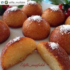 """301 Beğenme, 7 Yorum - Instagram'da @mucizetatlar #mucizetatlar (@mucizetatlar): """"Tebrikler 👏👏👏 Takibe almak için 👉 @elifle_mutfakk 👈 ・・・ . . REVANİ ✔️Malzemeler 🔺3 yumurta 🔺4 kahve…"""""""