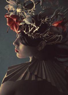 beautynursedondarkness:    Tropical Gloom 2 by Marcela Bolívar