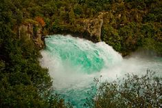 Huka Falls,  see more at New Zealand Journeys app for iPad www.gopix.co.nz