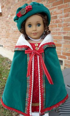 18 Doll Clothes Regency Style Christmas by Designed4Dolls on Etsy