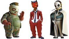 Designer toys Muttpop