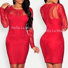 Ultra-Chic   Dress: $39.99  @stellalamoda #fashion #sexy #bodycon
