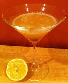 Meyer Lemon Whiskey Sour from Good Stuff NW blog