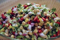 Healthy, light anddelicious, this quick and easy four bean salad is a perfect side dish for a pot luck dinner or backyard BBQ. The combination of colors, textures and flavors are certain to make t…
