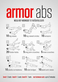 Armor Abs Workout, looks killing on the lower abs and entire core! Armor Abs Workout, looks killing on the lower abs and entire core! Neila Rey Workout, Ab Workout Men, Abs Workout Routines, Ab Workout At Home, At Home Workouts, Workout Plans, Workout Fitness, Ab Routine, Belly Fat Workout For Men