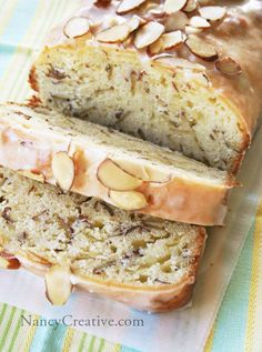Lemon Almond Bread / coffee cake! Nummmmy!