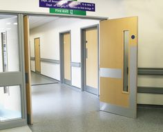 Fire Doors in Manchester Hope Hospital