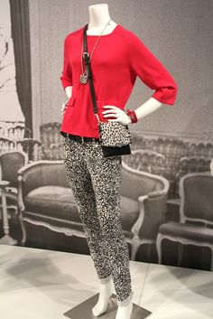 A look from Ann Taylor's fall 2012 collections.
