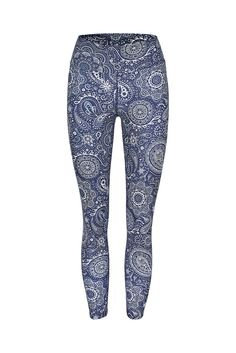 0c83373066fed Bandana Paisley High Waist Printed Yoga Legging - – Dharma Bums Yoga and  Activewear