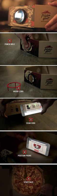 Your pizza box is about to get a high-tech update!