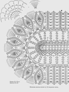 Kira scheme crochet: Scheme crochet no. 25