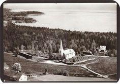 Feiring i Eidsvoll kommune Kirken. Utg Norsk Flyfoto Kirkenes, Photos, Vintage, Pictures, Photographs, Vintage Comics, Primitive