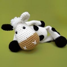 Cow Mytalda amigurumi pattern by DioneDesign