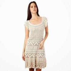 Encontrei esse vestido e resolvi postar para que vocês tenham uma opção para o verão. Espia só!!!                     Gráfico 1     Gráfico...