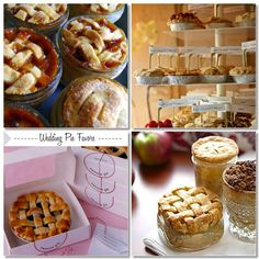 pie favors #weddings