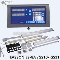 367.92$  Know more  - Free shipping Easson ES-8A complete set 2 axis DRO digital readout and 2 pcs GS10 linear scale for lathe and mill