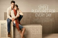 Lucky Brand Spring 2013 Catalog: The Demure Style ~ Men Chic- Men's Fashion and Lifestyle Online Magazine Sean O'pry, Brand Campaign, Typography Layout, Catalog Design, Fashion Catalogue, Simple Pleasures, J Brand, Lucky Brand, Menswear