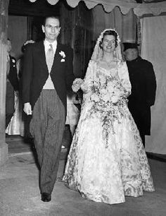 2nd Earl, Martin Attle   and   Anne Barbara Henderson   Marriage, 19552