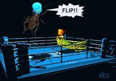 Flip vs. Jiminy Cricket