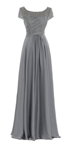 Factoryoffers Mother Of The Bride Long A line prom dress AM5: Amazon Fashion