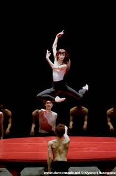 She's so amazing... Sylvie Guillem - Bejart's Bolero.  Saw her dance at the Met and will never forget it!