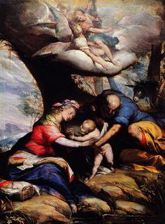Giovanni Battista Crespi, il Cerano - Riposo durante la fuga in Egitto - 1595