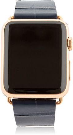 42mm Rose Gold Apple Watch W/ 3 Band Set