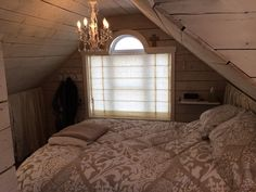 My attic bedroom