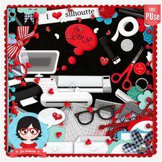 Kit - I Love Sil by Fa Maura [FaMaura_ILoveSil] - $7.00 : FaMaura.com - scrapshop