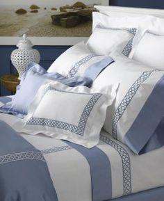 Matouk Bedding and Bath Shabby Bedroom, Dream Bedroom, Bedroom Decor, Duvet Bedding Sets, Linen Bedding, Bed Linen, Bed Covers, Bed Spreads, Bed Sheets