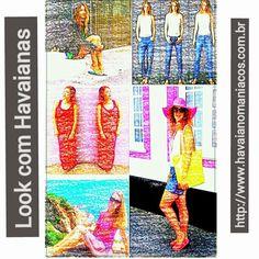 Havaianomaniacos: Look com Havaianas. 12/08/2014